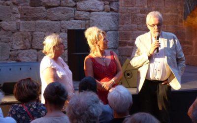 Un festival original dans la cour d'honneur du Chateau de Portes