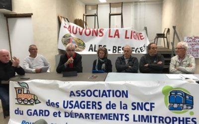 Ligne Alès – Bessèges, une ligne d'actualité