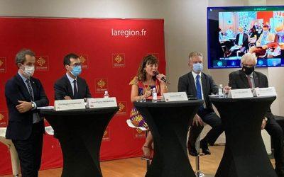 Conférence de presse Région Groupe Sncf