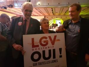 Oui aux LGV  en Occitanie