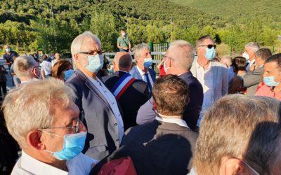 Inauguration du Pont à La Grand-Combe