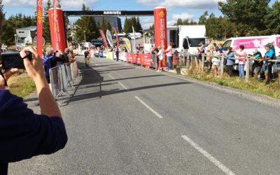 Le tour féminin international cycliste de l'Ardèche au Mont Lozère
